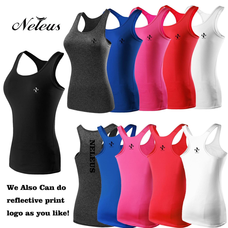 a6e4dba0c38ad2 NT0004 Neleus Women s Compression Dry Fit Vest Tank Top